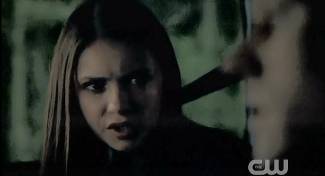 The Vampire Diaries S3x22 Elena telling Matt to turn around