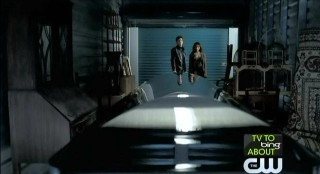 The Vampire Diaries S3x22 Klaus' coffin