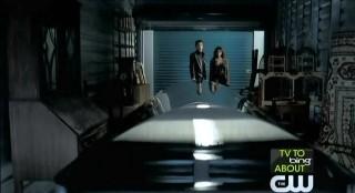 The Vampire Diaries S3x22 Klaus' coffin