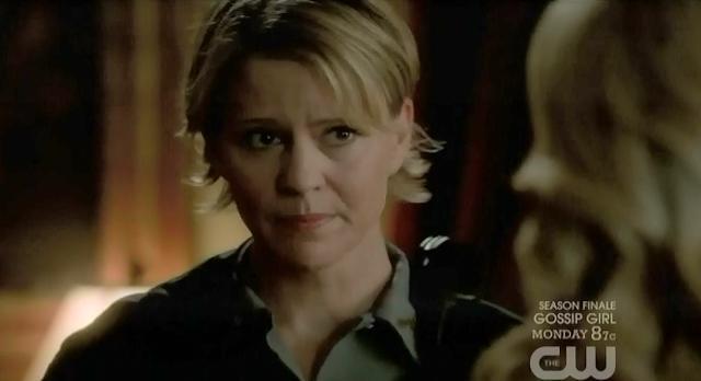 The Vampire Diaries S3x22 Sheriff liz telling Caroline to leave town