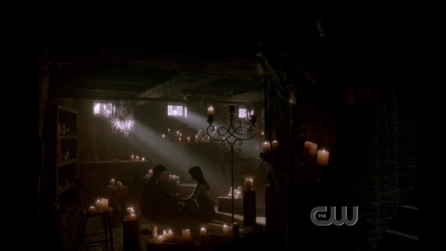 The Vampire Diaries S4x01 - Bonnie doing her magic