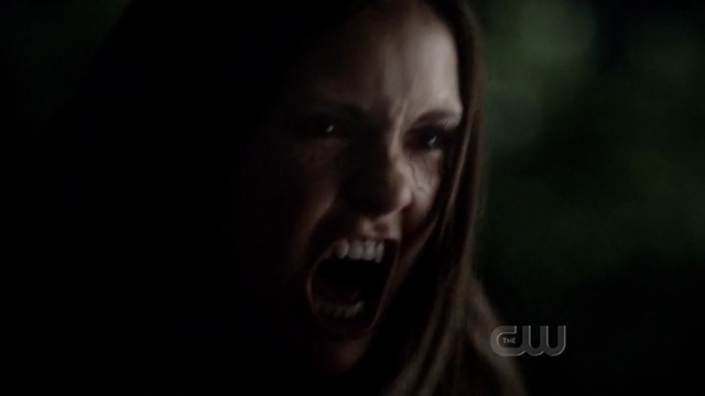 The Vampire Diaries S4x01 - Elena playing the Mother Vamp Tereza