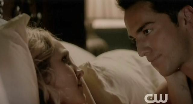 The Vampire Diaries S4 x 2 Caroline and Tyler