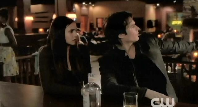 The Vampire Diaries S4 x 2 Damon showing Elena the buffet