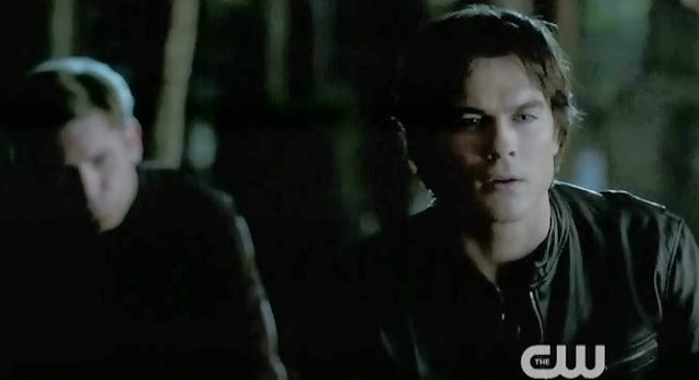 The Vampire Diaries S4 x 2 Damon talking to Alaric
