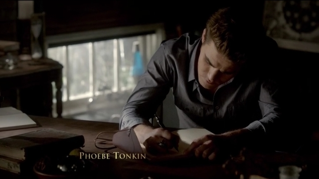 The Vampire Diaries S4x05 - Stefan and the journal