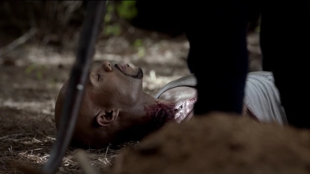 The Vampire Diaries S4x05 - boo Connor was so tough he got killed by the newbie melodramatic vampire