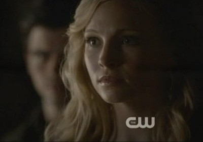 The Vampire Diaries S4x09 - Caroline blesses Tyler out