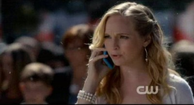 The Vampire Diaries S4x09 - Caroline is ready to spit daggers
