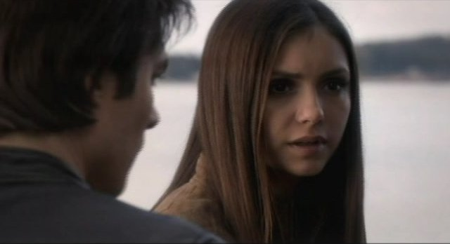 The Vampire Diaries S4x09 - Elena tries to be affectionate