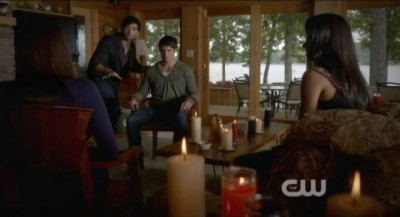 The Vampire Diaries S4x09 - Natural magic therapy session