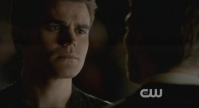 The Vampire Diaries S4x09 - Stefan and Klaus have a pissing contest at the Christmas party
