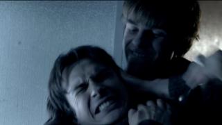 The Vampire Diaries S4x11 - Kol and Damon fighting, it is more like Kol fighting and Damon losing it