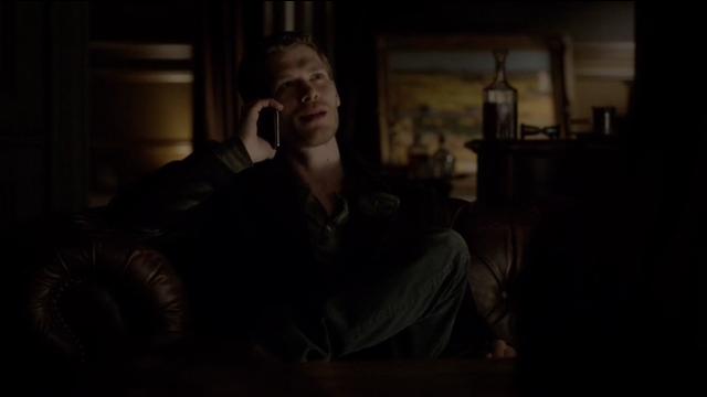 The Vampire Diaries S4x11 - Klaus calling Kol