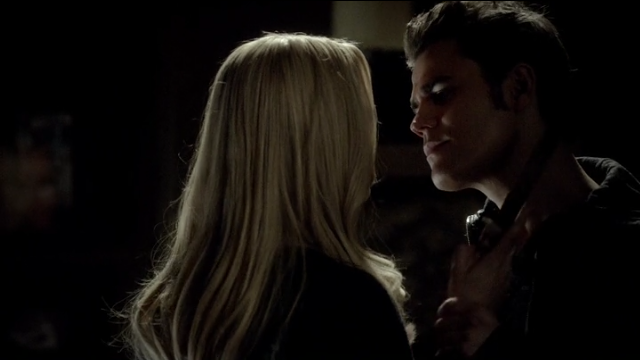 The Vampire Diaries S4x11 - Rebekah and Stefan, sexy hot