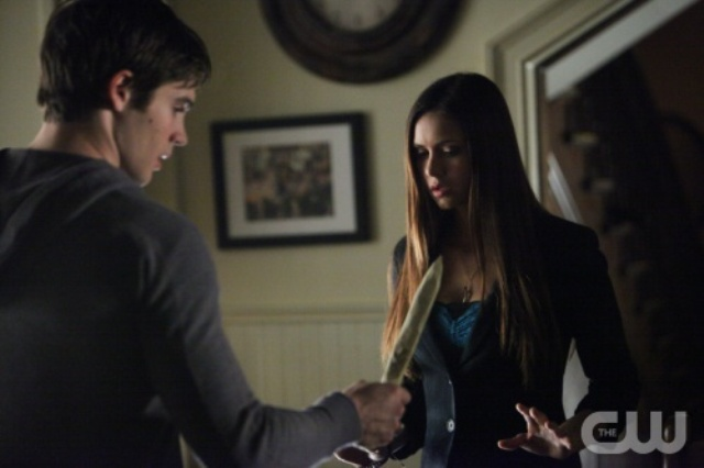 The Vampire Diaries S4x11 - Jer and dagger