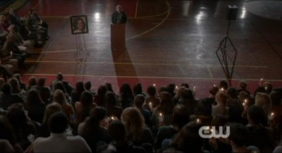 The Vampire Diaries S4x10 - Carol Lockwood's memorial