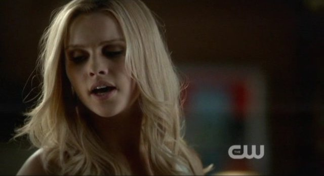 The Vampire Diaries S4x10 - Let's all slap Rebekah for forcing Elena to tell the truth