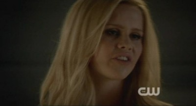 The Vampire Diaries S4x10 - Rebekah uses her power to hold them at the school library