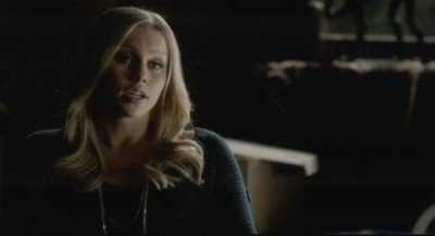 The Vampire Diaries S4x12 - Rebekah shares a few words with Stefan