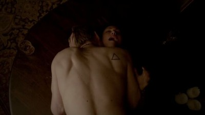 The Vampire Diaries S4x16 - Klaus and Hayley make love