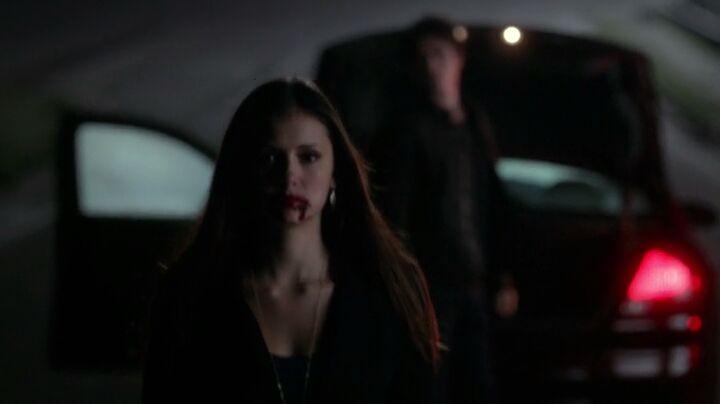 The Vampire Diaries S4x16 - Elena walking away from killing an innocent woman like a boss