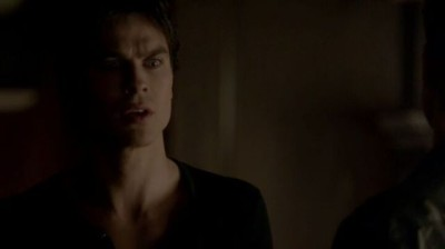The Vampire Diaries S4x16 - Damon talking to Stefan about Elena's condition
