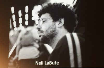 SDCC 2016 Neil LaBute joined the panel via teleconference