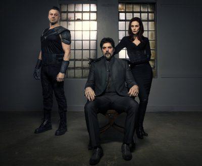 Van Helsing - Season 1 Aleks Paunovic as Julius, Paul Johansson as Dmitri, Laura Mennell as Rebecca