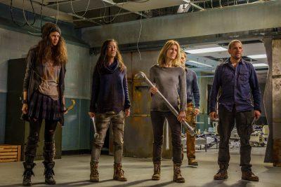 Van Helsing S1x01 Supporting main cast members