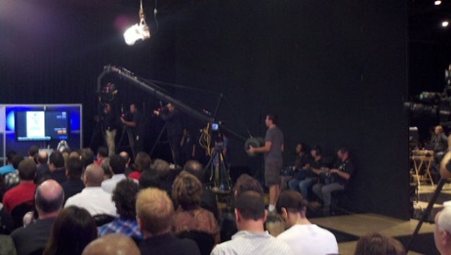 NBC Syfy crews at work during Hollywood Auction 42!