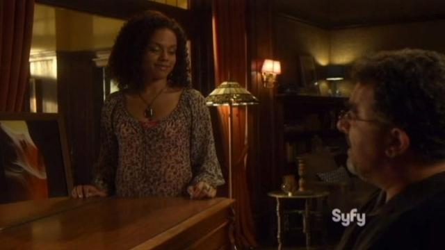 Warehouse 13 S4x11 Artie at piano 1
