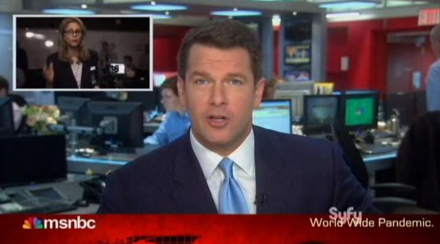 Warehouse 13 S4x11 News reporter