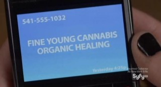 Warehouse 13 S4x12 Fine Young Cannabis