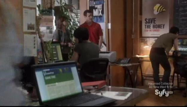 Warehouse 13 S4x12 Green First offices