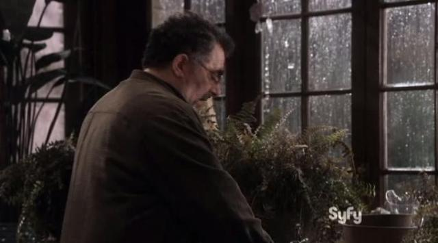 Warehouse 13 S4x14 Arty waters plants
