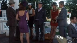 Warehouse 13 S4x14 At the fancy club