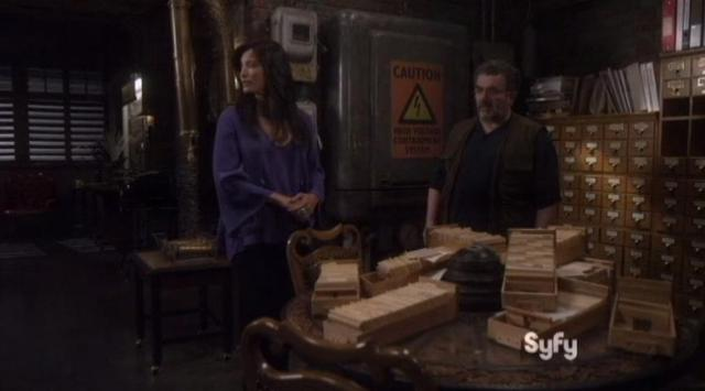 Warehouse 13 S4x14 New B and B owner