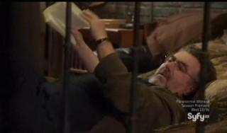 Warehouse 13 S4x15 Artie hammock shaking