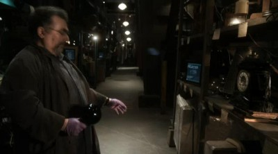 Warehouse13 S4X16 Artie gets beat up by ball