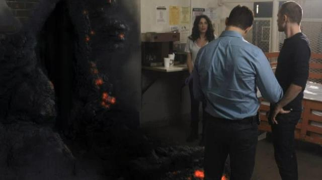 Warehouse13 S4X16 Second Lava hole
