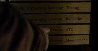 Warehouse 13 S4x17 Artie at Armstrong Industries