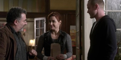 Warehouse 13 S4x17 Claudia Steve and Artie