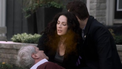 Warehouse 13 S4x17 Pete Myka Colonel gassed
