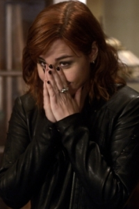 Warehouse13 S4x16 - Allison Scagliotti as Claudia
