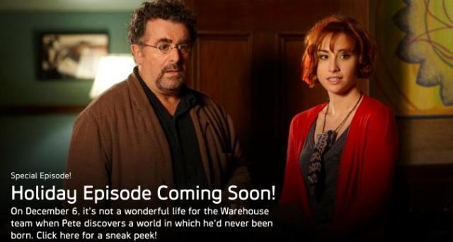 Warehouse13 - Holiday episode 2011 image. Click and learn more!