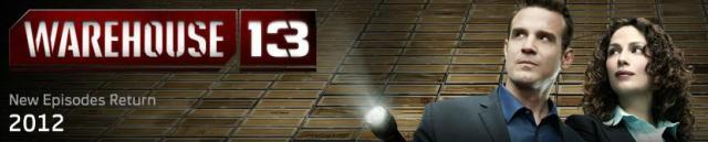 Warehouse 13 - Syfy 2012 coming soon banner