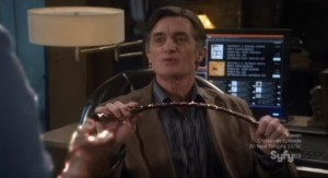 Warehouse 13 S3x13 - MacPherson with DeMilles Riding Crop