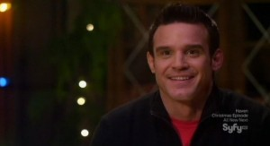 Warehouse 13 S3x13 - Pete is happy with Its A Wonderful Life