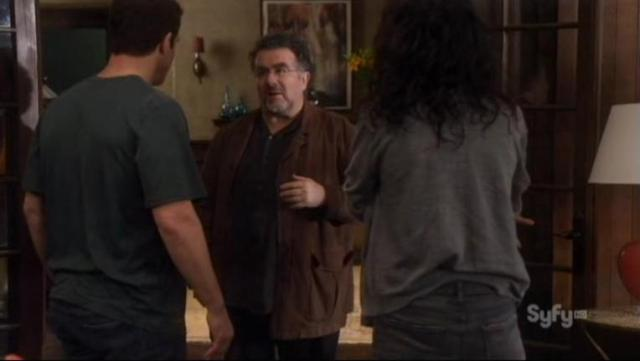 Warehouse 13 S4x02 Pete and Myka confront Artie